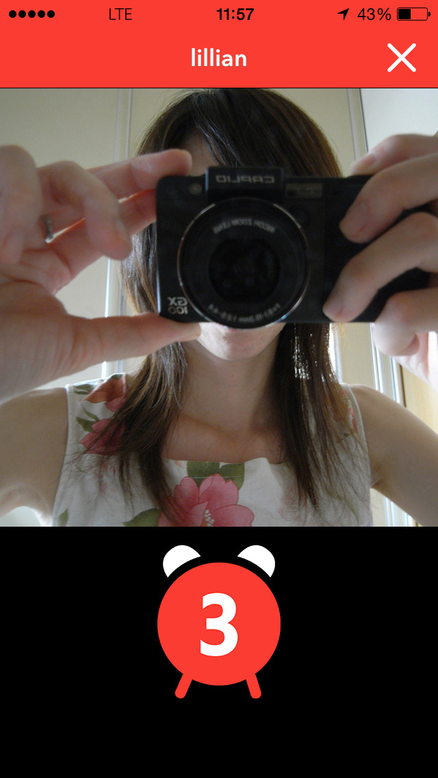 Selfie X iPhone