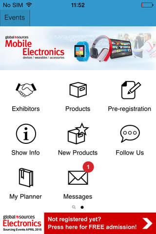 Electronics Show – April 2015 screen