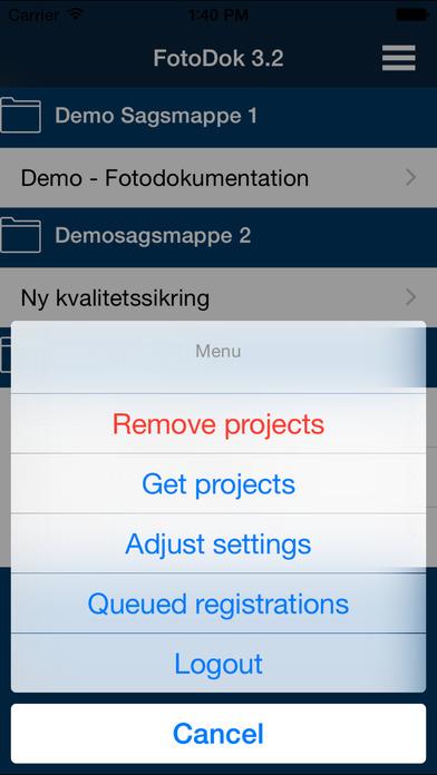 FotoDok iPhone Screenshot 3