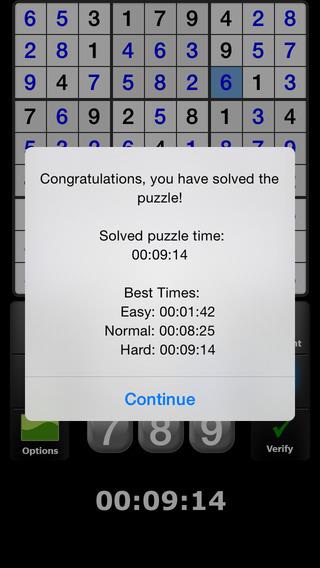 Satori Sudoku iPhone Screenshot 4