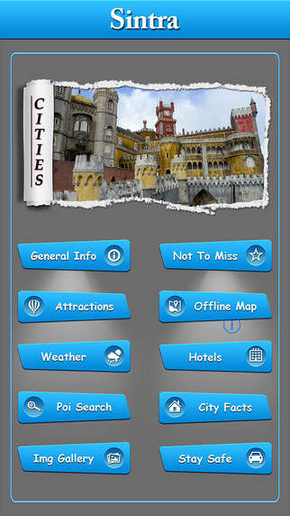 Sintra Offline Map Travel Guide