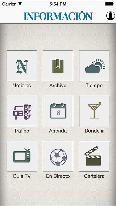 Informacion.es iPhone Screenshot 1