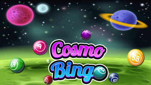Cosmo Bingo Menace - Intergalactic Jackpot With Multiple Daubs And Levels