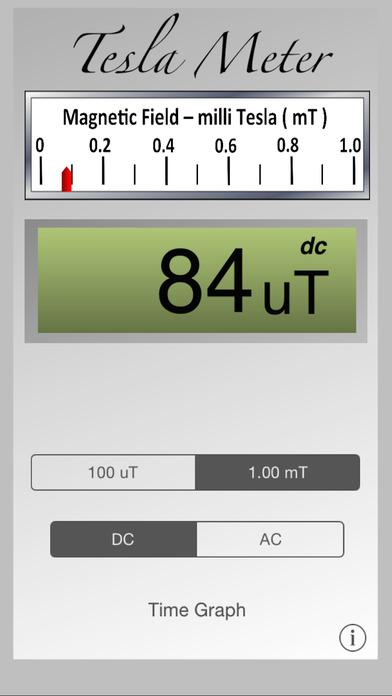 Tesla Field Meter iPhone Screenshot 2
