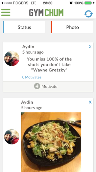 GymChum - Social Fitness Network