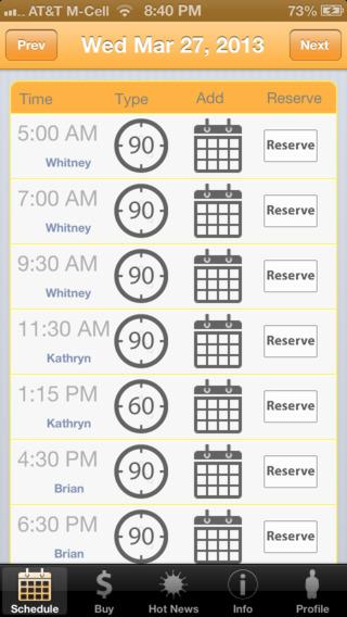 Bikram Yoga Silverlake Scheduling