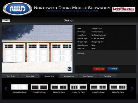 Northwest Door® Virtual Garage Door Showroom iPad Screenshot 4