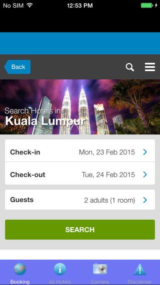 Malaysia Hotel booking