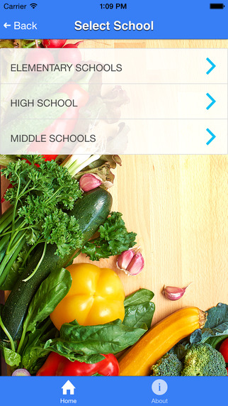 Web Menus by School Nutrition and Fitness
