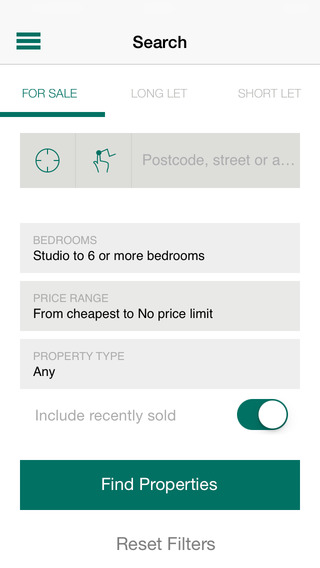Foxtons Property Search iPhone Screenshot 4