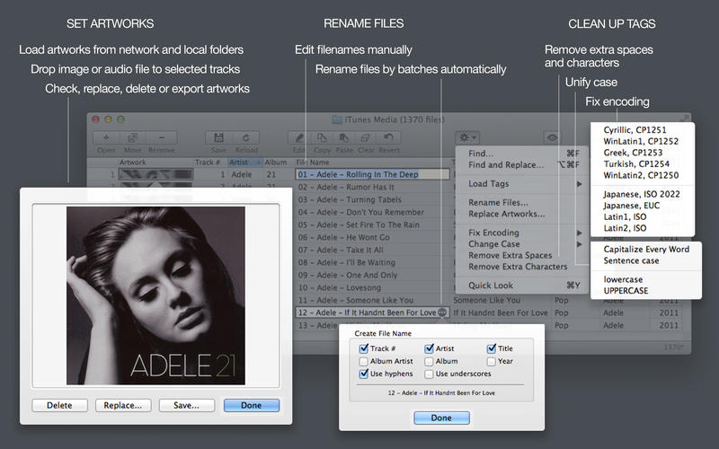 Tag Editor Free Screenshot - 4