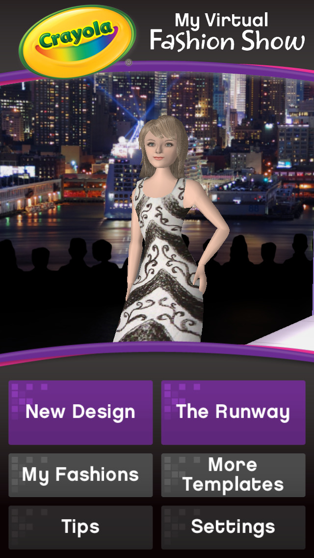 App Shopper Crayola My Virtual Fashion Show Games