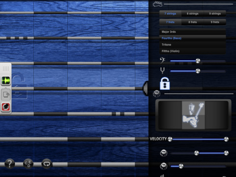 iFretless Bass Screenshots
