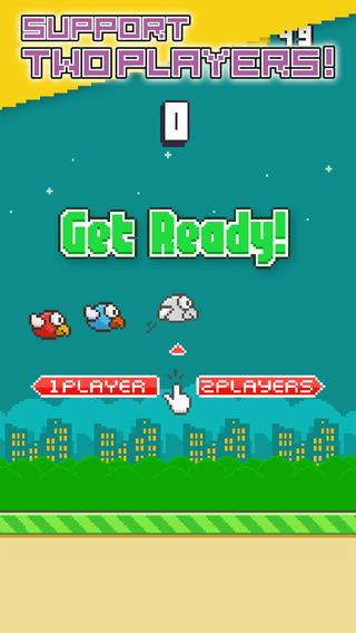 Flappy Parrot-飞扬的小鸟快飞支持复活和2个玩家