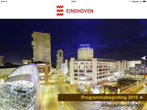 Begrotingsapp Gemeente Eindhoven 2015