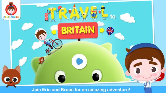 Eric Bruce Travel To Britain-Free
