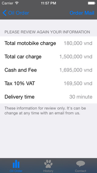 Free Vicky Mobile Oil Order from Vicky.in
