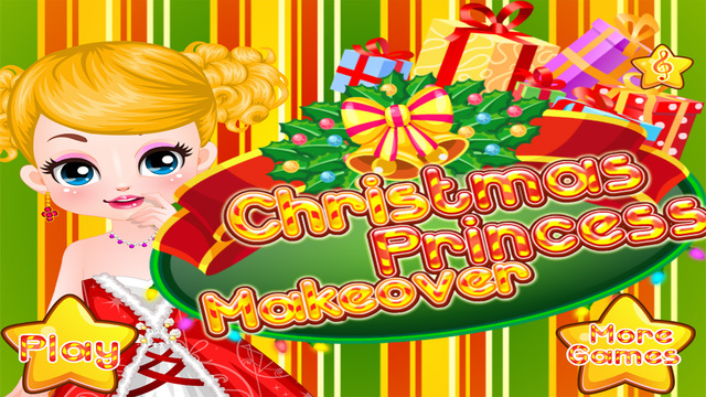 Christmas Princess Makeover - Games for Girls