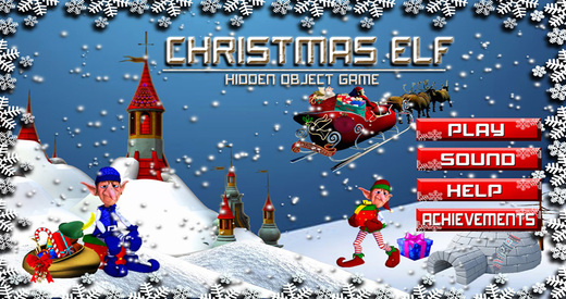Christmas Elf - Free Hidden Object Games