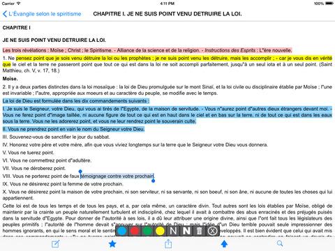 L'Évangile selon le spiritisme iPad Screenshot 2