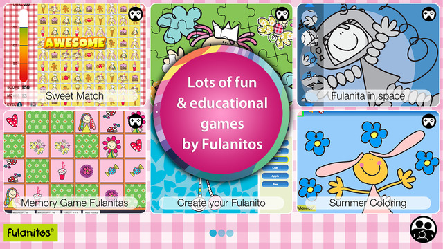 Fulanitos Educational Games for Bilingual Children in English and Spanish