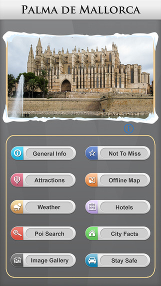 Palma De Majorca Offline Map Travel Guide