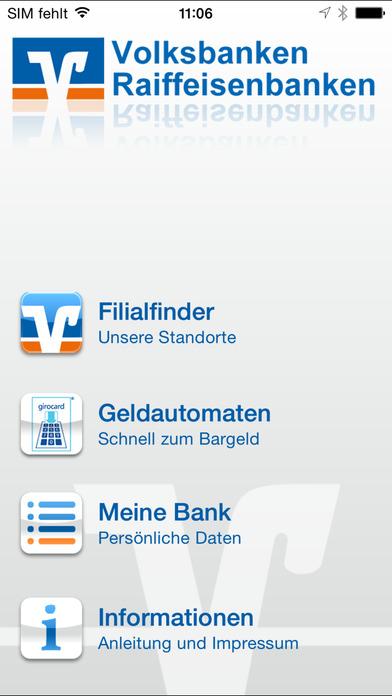 vr.de Suche iPhone Screenshot 1