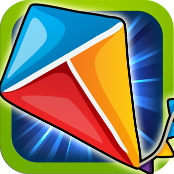 Kite Cutter - Fun Chain-Reaction Puzzle Game for Kids and Adults LOGO-APP點子