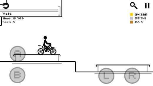 Draw Rider Plus Games for iPhone/iPad screenshot