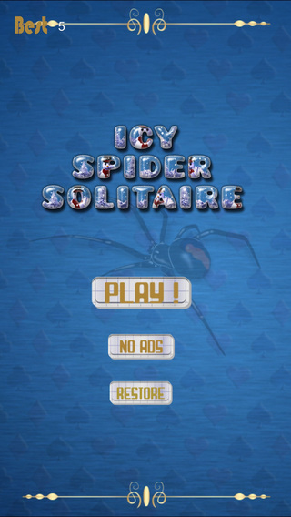 Icy Spider Solitaire