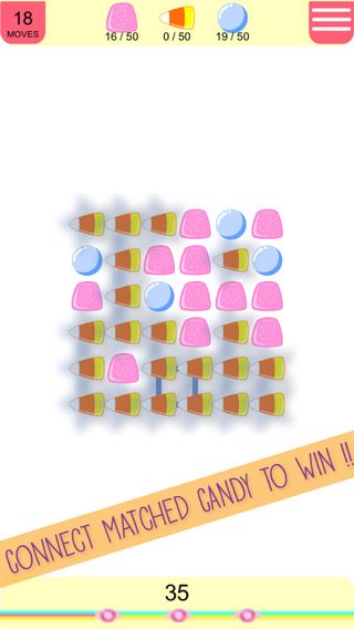 Aaron Sweet Candy Blast Free - Swipe and match the Candy to win the puzzle games