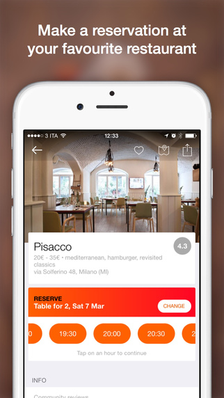 MiSiedo - Search and Book the Best Restaurants in Italy