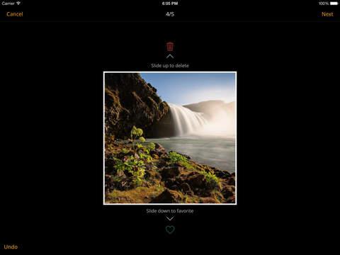 Slidy - Наиболее эффективный способ удалять и управлять ваши фотографии Screenshot