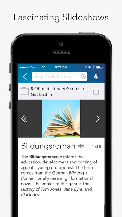 Dictionary.com Dictionary & Thesaurus - iPhone Mobile Analytics and App Store Data