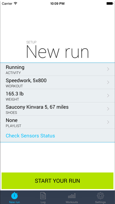 iSmoothRun Pro GPS/Pedometer Tracker for Runners Screenshots