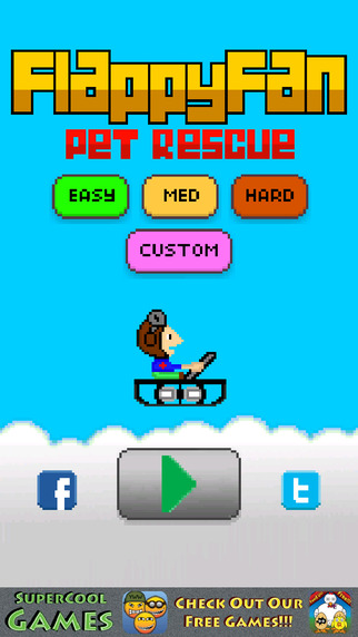 Flappy Fan - Pet Rescue