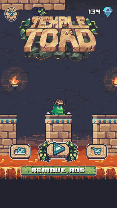 Screenshots of Temple Toad for iPhone