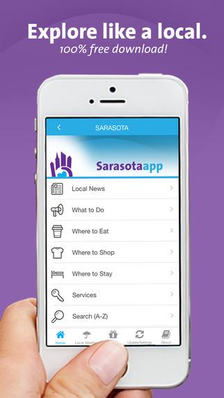 Sarasota App - Florida - Local Business Travel Guide