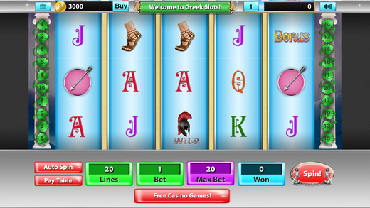 Greek Slots Pro