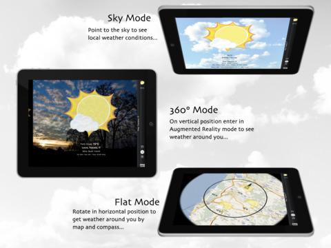 Meteo360 for iPad iPad Screenshot 3