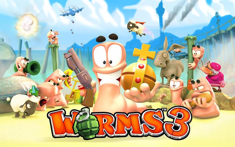 Worms 3 Screenshot - 1