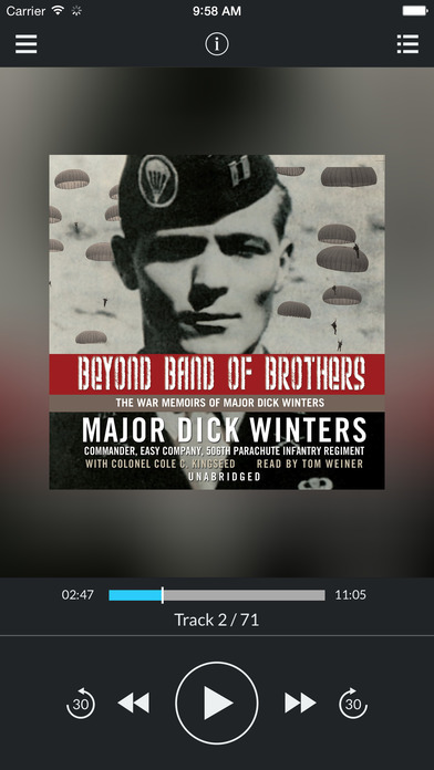 Beyond Band of Brothers: The War Memoirs of Major Dick Winters by Major Dick Winters and Colonel Col