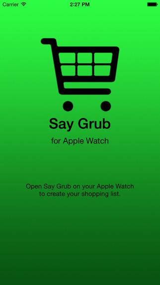 Say Grub