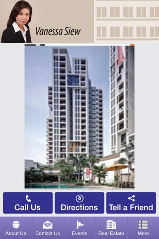 Vanessa Siew Real Estate screenshot 1