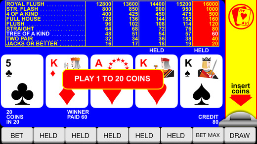 Video Poker «Jacks or Better» with «Double up»