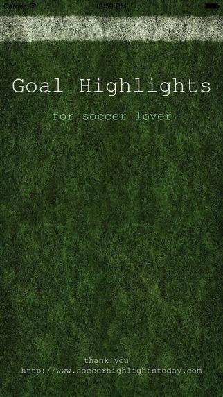 Goal Highlights