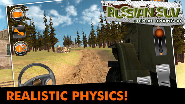 Russian SUV Offroad Driving 3D Screenshots