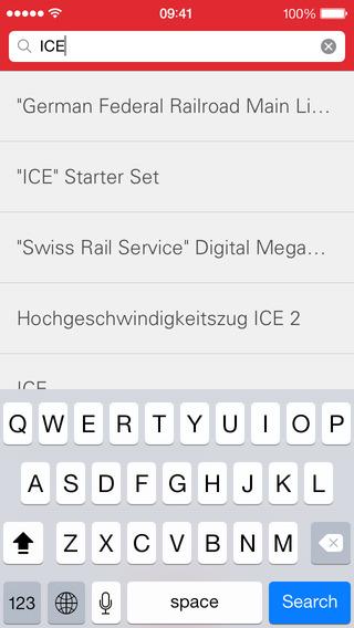 Märklin Product Catalog iPhone Screenshot 4