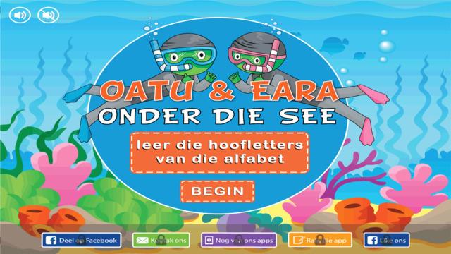 Oatu Eara: Hoofletters onder die see