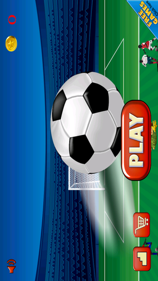 Awesome Soccer Sports Evolution Strikers - Smash Goal Edition FREE